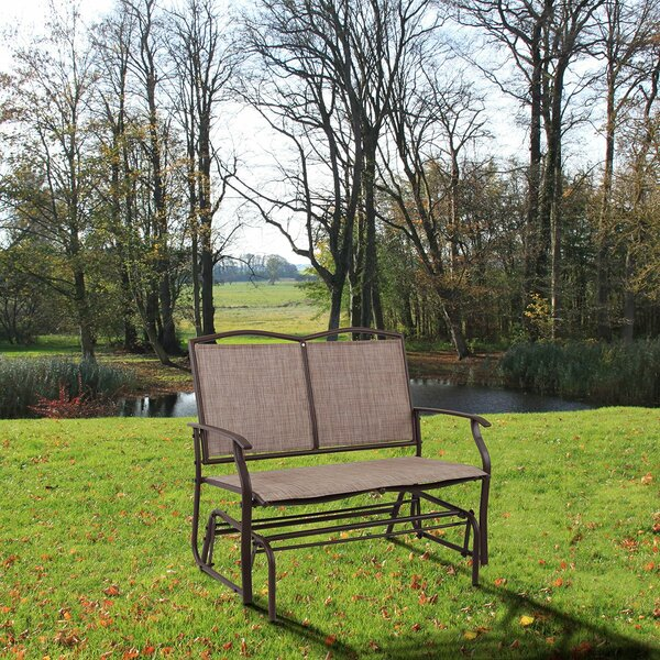 Ratcliff Patio Swing Rocking Bench by Winston Porter