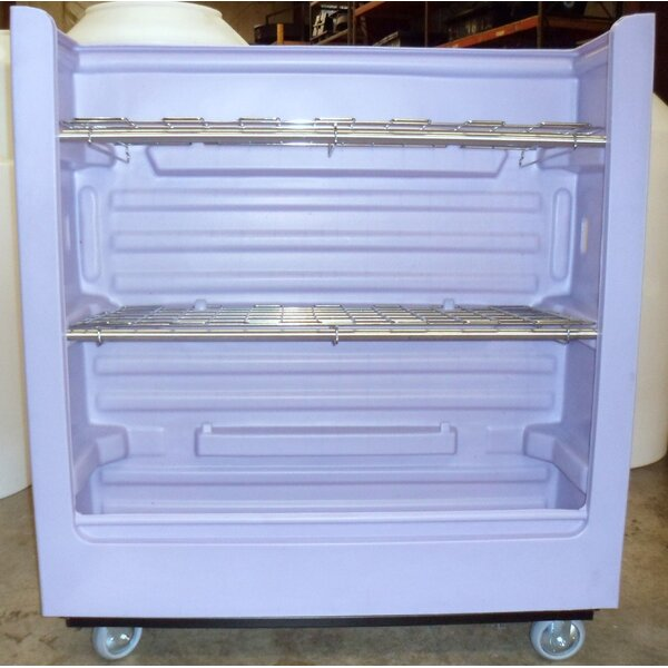 45 Cubic Feet Turnabout Truck with 3 Shelves by Maxi-Movers
