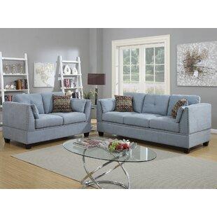 Esmond 2 Piece Living Room Set by Alcott Hill®