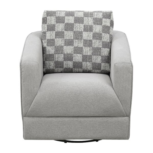 Kulp Swivel Armchair by Latitude Run