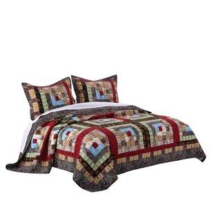 Parkdale Cotton Reversible Quilt Set