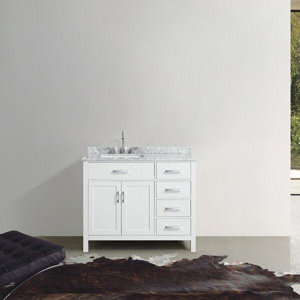 Hafer 43 Single Bathroom Vanity Set