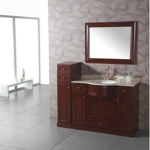 Best Price 12 W x 46 H Cabinet ByLegion Furniture