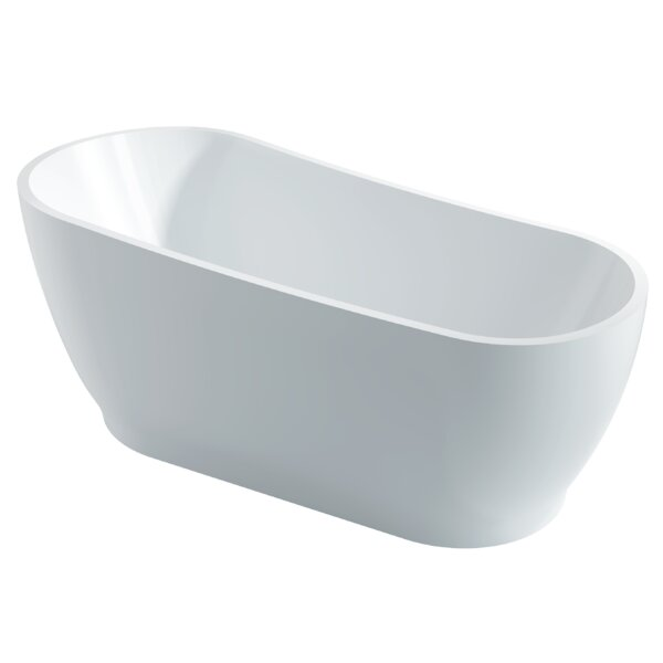 Ucore 67 x 32 Freestanding Soaking Bathtub by UCore