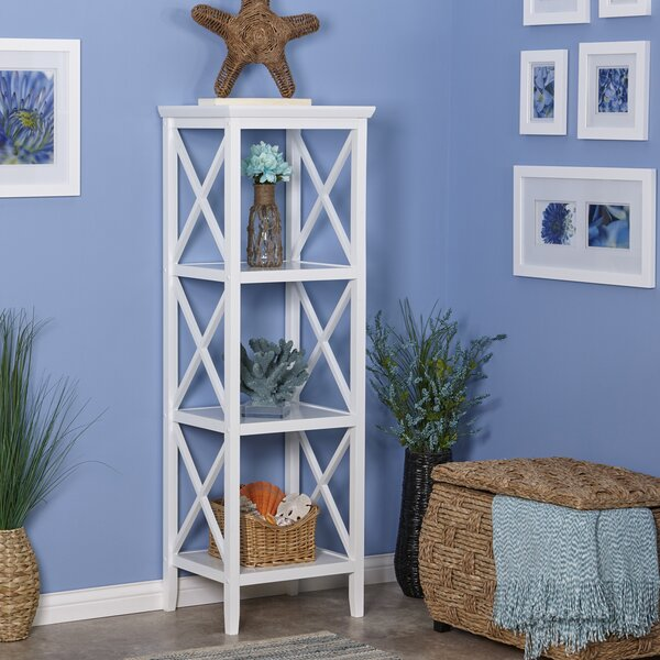 Piperno Etagere Bookcase by Highland Dunes