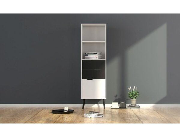 Mateer Standard Bookcase by Langley Street