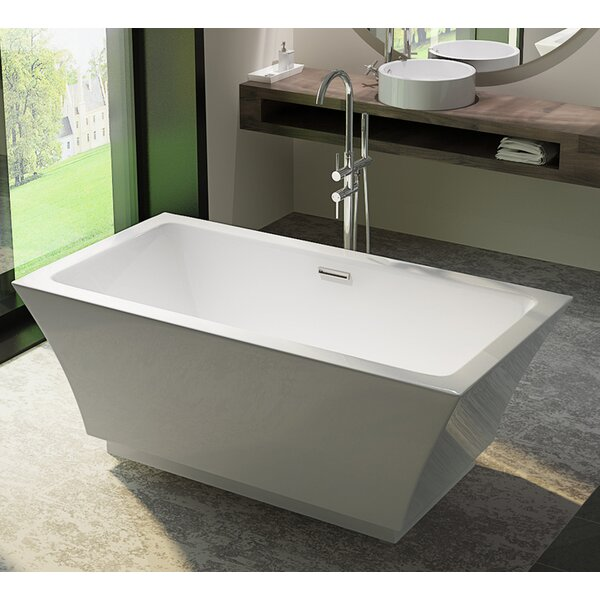 HelixBath Pergamon 59 x 29.5 Soaking Bathtub by Kardiel