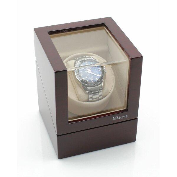 Versa Elite Single Winder Watch Box by JP Commerce