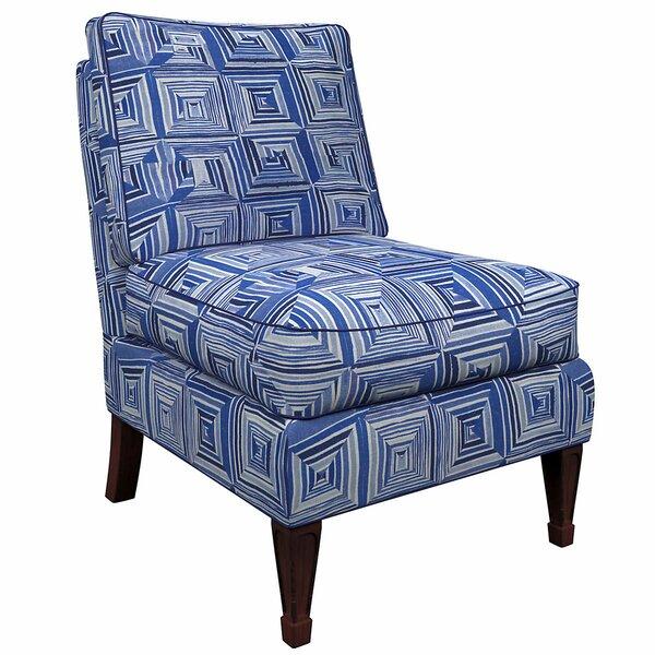 Eldorado Slipper Chair by Annie Selke Home Annie Selke Home