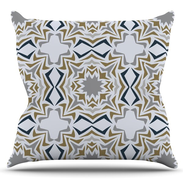 Ice Stars by Miranda Mol Outdoor Throw Pillow by East Urban Home