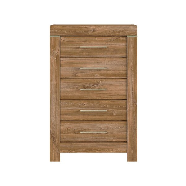 Marcum 5 Drawer Chest by Union Rustic