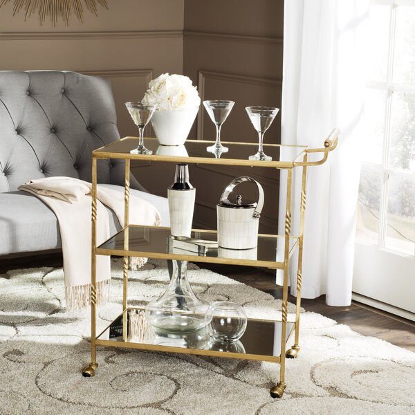 Arabelle Bar Cart by Willa Arlo Interiors