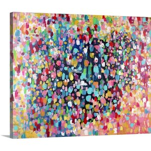 Dance, Dance, Dance' by Amira Rahim Painting on Wrapped Canvas by Great Big Canvas