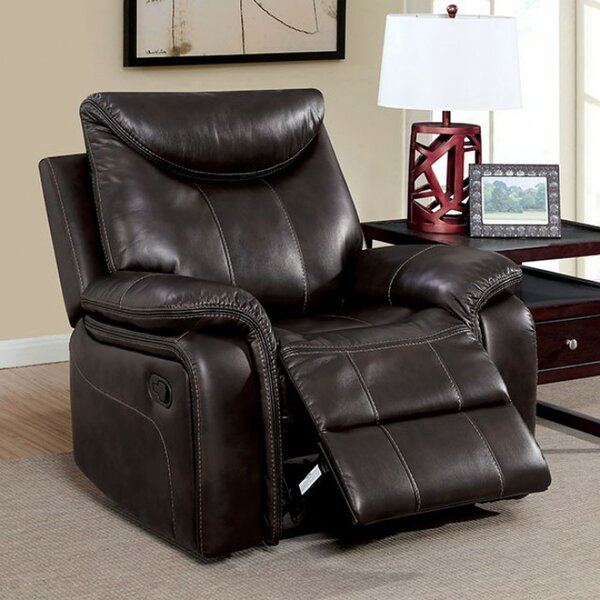 Stavros Plush Manual Recliner [Red Barrel Studio]
