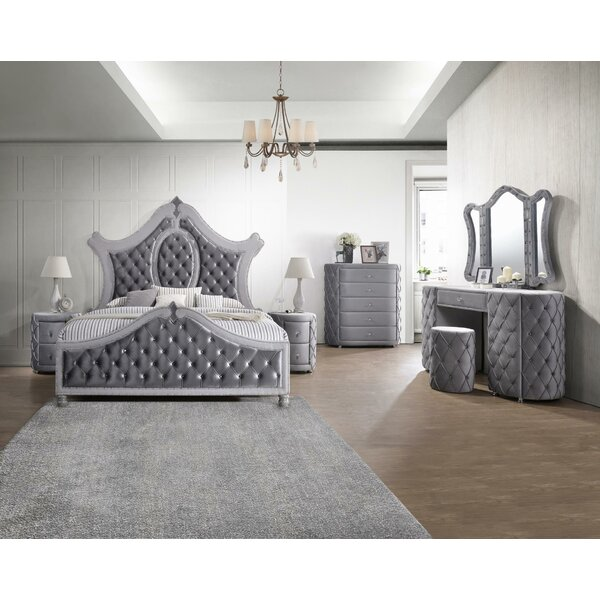 Scheidt Standard 7 Piece Bedroom Set by Astoria Grand