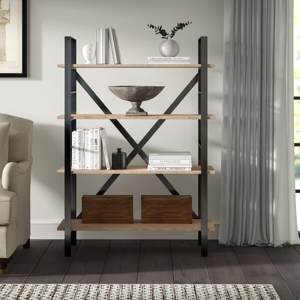 Blonde Etagere Bookcase By Greyleigh