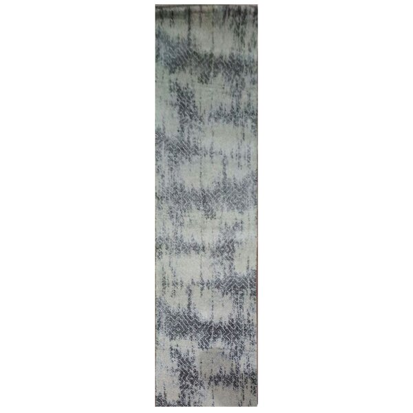 Wootton Ivory/Silver/Gray Area Rug by Latitude Run