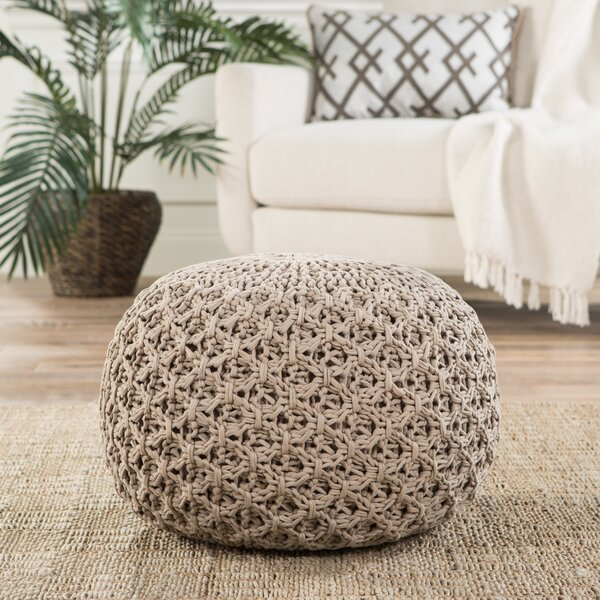 Carin Pouf by Bungalow Rose