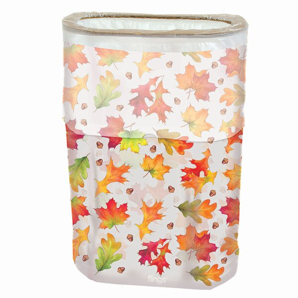 Autumn Fling 13 Gallon Trash Can by Amscan
