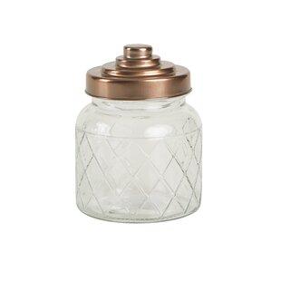 decorative glass jars lids wayfair co uk