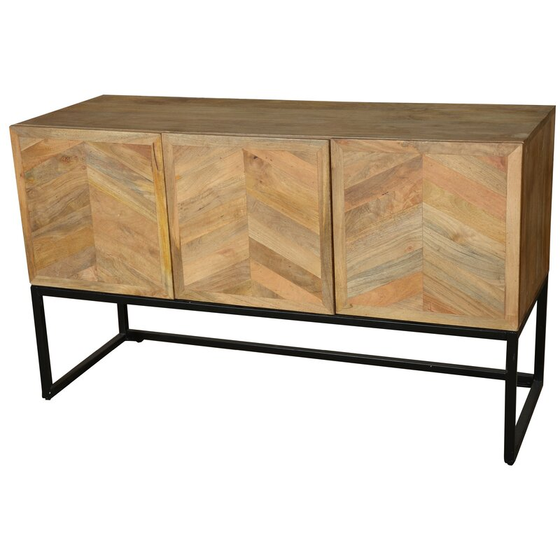 default_name - Bungalow Rose Wageningen Storage Buffet Table With Winerack Wayfair