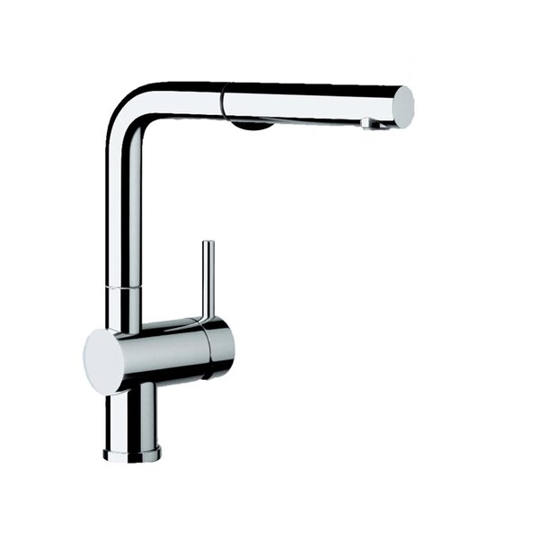 Linus Single Handle Kitchen Faucet with Pull Out Spray by Blanco