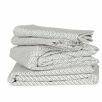 Thread Experiment Chevron 300 Thread Count Cotton Sheet Set