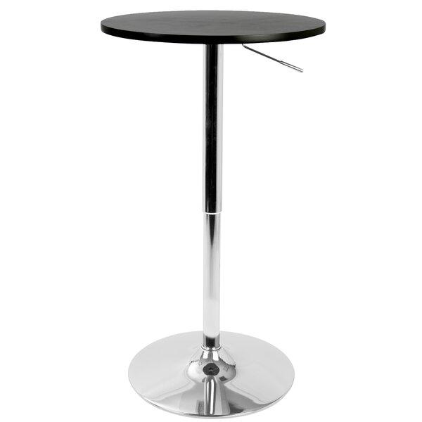 Coveney Adjustable Pub Table by Ebern Designs