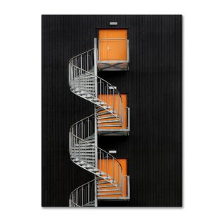 U0027Northernmost Spiral Staircaseu0027 Photographic Print On Wrapped Canvas