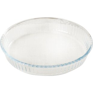 Affordable Borcam Round 1.8qt. Heat Resistant Ribbed Roaster ByCircle Glass