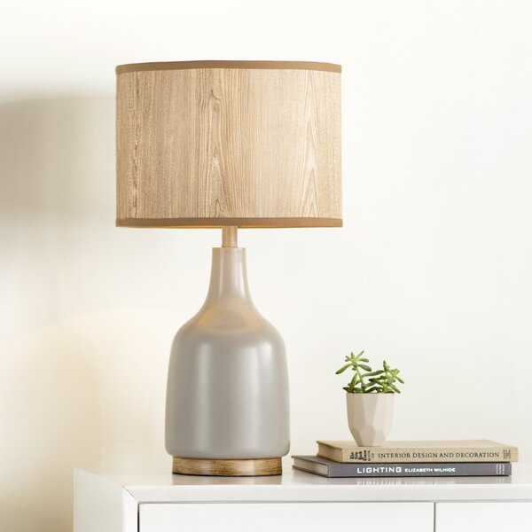 Miramonte Allen 25.5 H Table Lamp with Drum Shade by Langley Street
