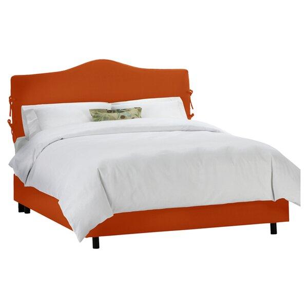 Clarita Upholstered Standard Bed by Skyline Furniture
