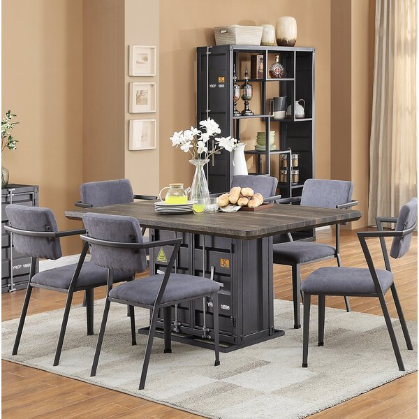Cargo 7 Piece Dining Set by Acme
