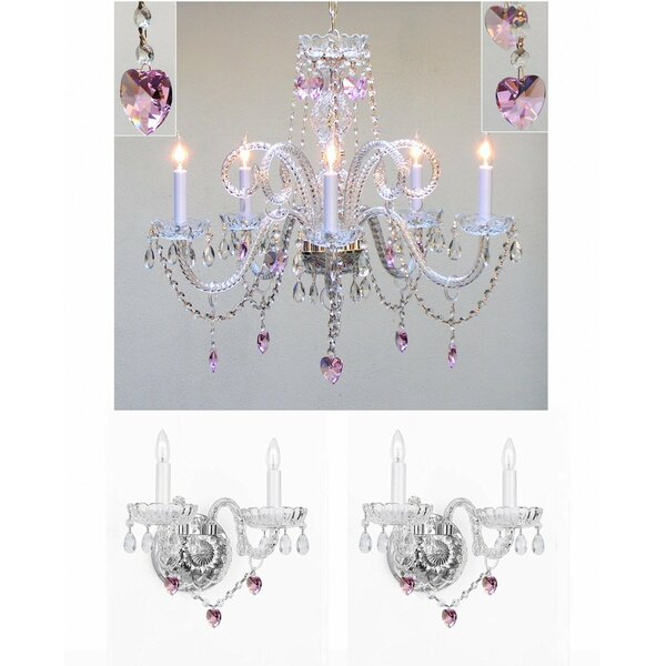 Kendari 5-Light Candle Style Chandelier by House of Hampton
