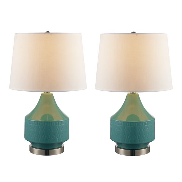 Baugher 21 Table Lamp (Set of 2) by Ivy Bronx