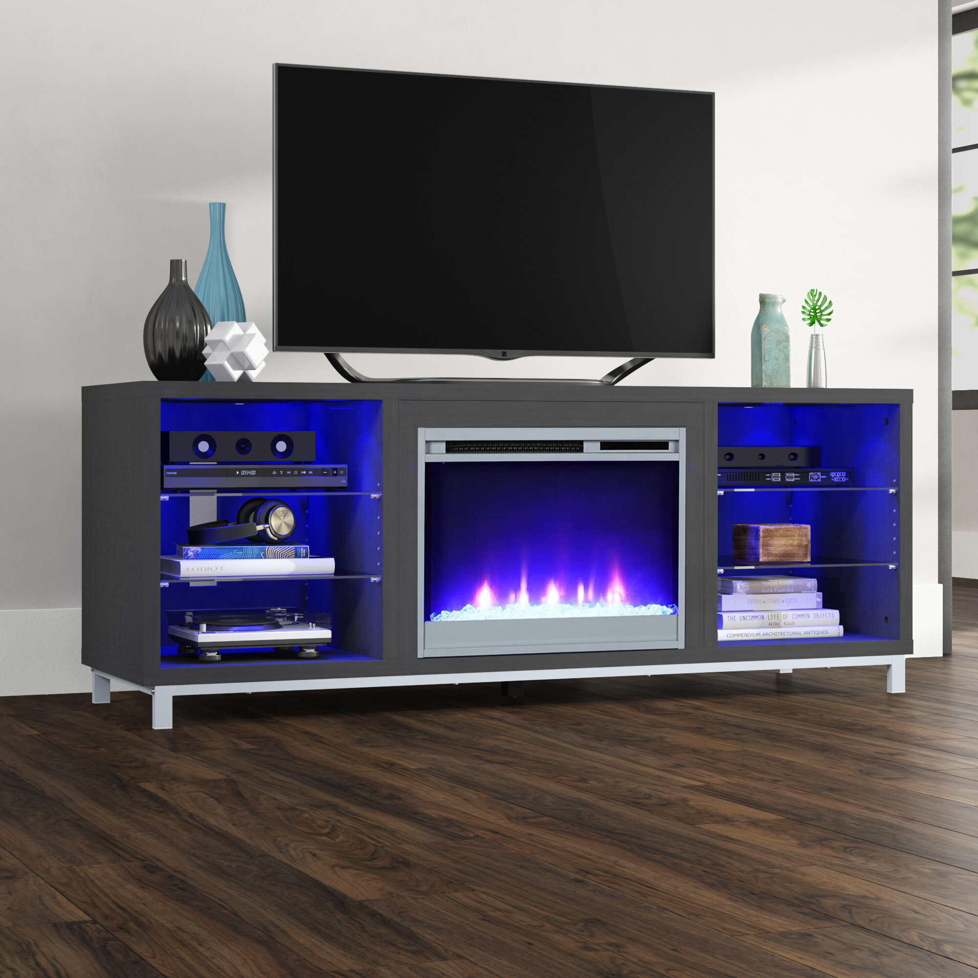 new arrivals 7640b e72ee barnwood tv stand You'll Love in 2019   Wayfair