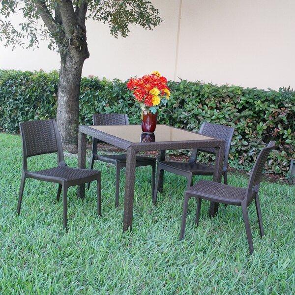 Fresh Kesler Modern 5 Piece Dining Set By Brayden Studio Today Sale