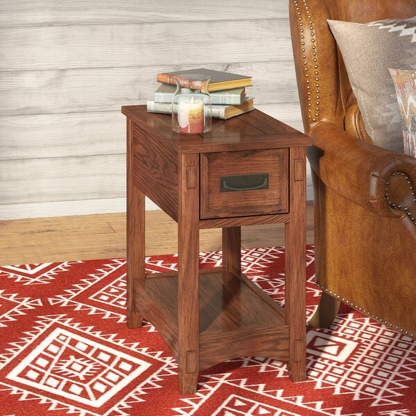 Barrett End Table With Storage By Loon Peak