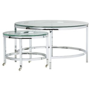 Joel Coffee Table With Nested Stools