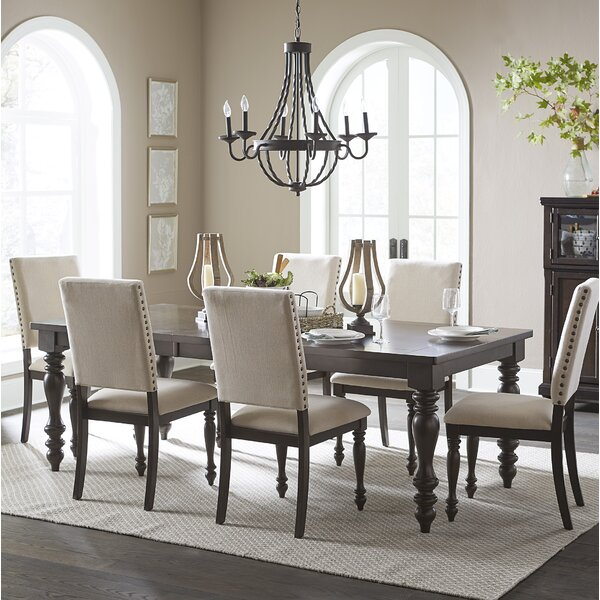 Yarger 7 Piece Extendable Dining Set by Alcott Hill