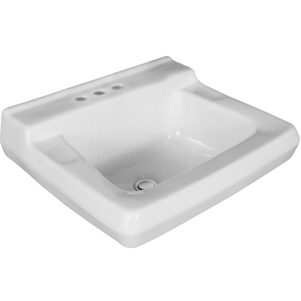 Willow Run Vitreous China 20 Wall Mount Bathroom Sink by Mansfield Plumbing Products