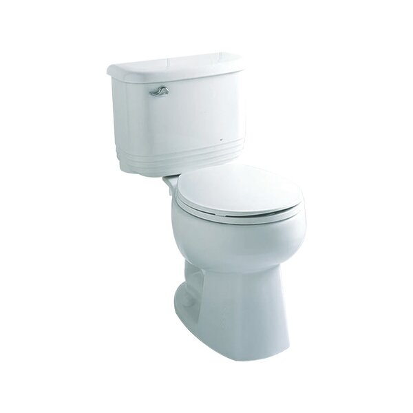 Riverton Front 1.6 GPF Round 2 Piece Toilet by Sterling by Kohler