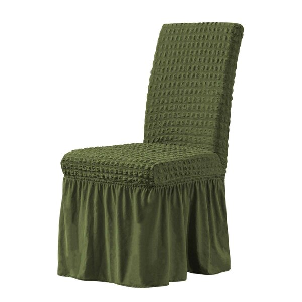 Universal Box Cushion Dinning Chair Slipcover (Set Of 2) By One Allium Way