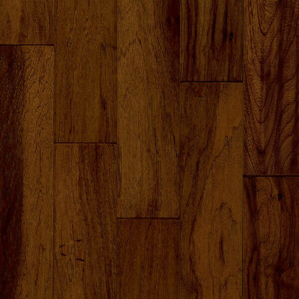 Century Farm 5.71 Engineered Hickory Hardwood Flooring in Chateau Brown by Armstrong Flooring