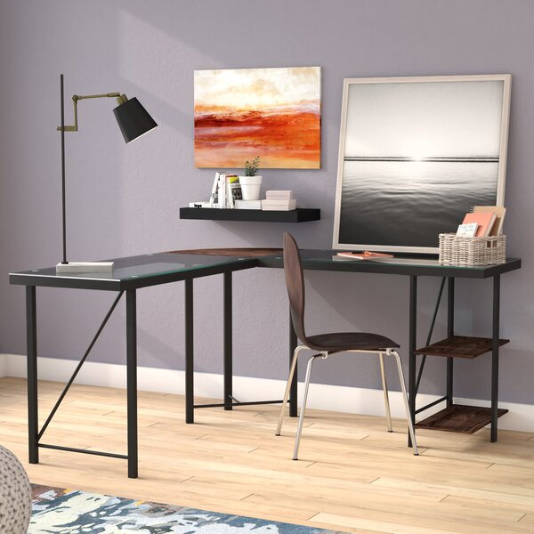 Krupa L-Shape Corner Desk by Mercury Row
