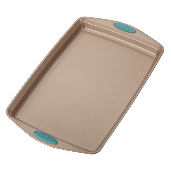 Cucina Rectangular Non-Stick Cookie Sheet by Racha