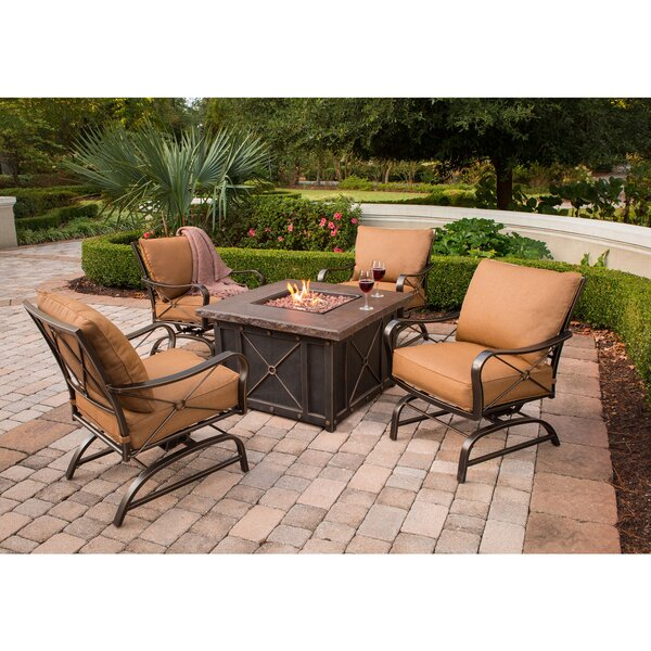 Sweeny 5 Piece Conversation Set with Cushions by Brayden Studio
