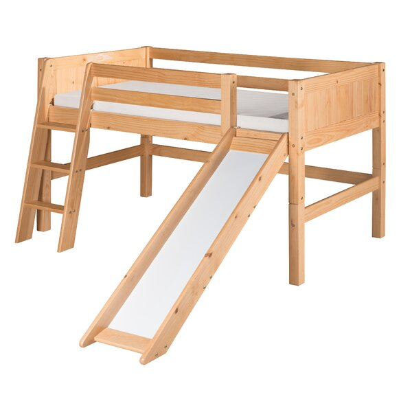 Oakwood Low Loft Bed by Harriet Bee