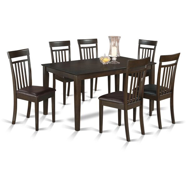 Smyrna 7 Piece Dining Set by Charlton Home