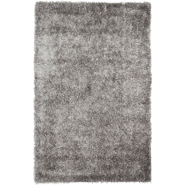 Cheevers Handmade Gray Area Rug by Mercer41